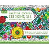 Crayola Adult Coloring Book & Marker Art Activity Set