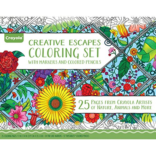 Crayola Adult Coloring Marker Activity