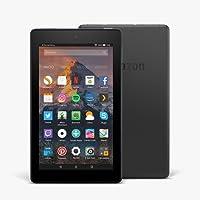Tablet Fire 7, pantalla de 7'' (17,7 cm), 16 GB (Negro) - Incluye ofertas especiales