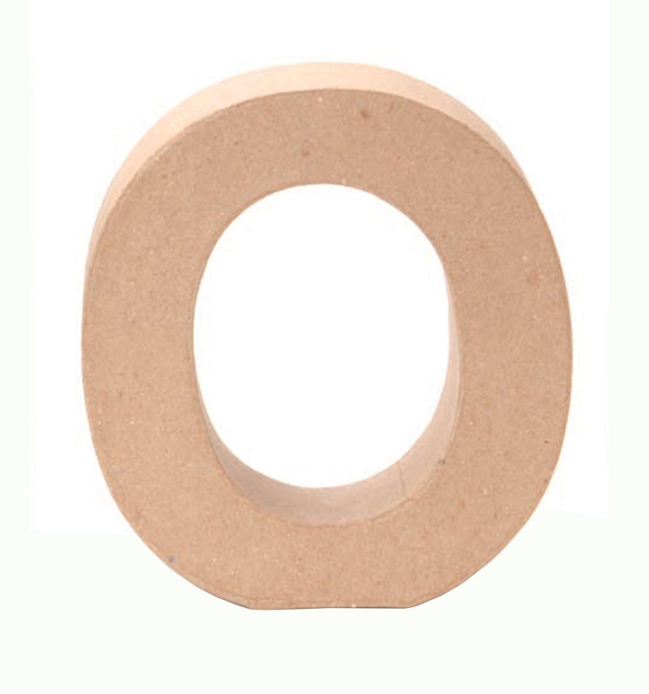 Glorex Papp della Lettera O o Natura
