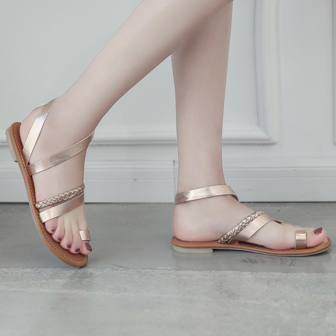 Witsaye Donna Estate Scarpe Col Tacco Stiletto Stiletto Stiletto Elegante Cinturino Caviglia Tacco Alto Pompe Partito Sandali Con LacciRose Gold fb3133