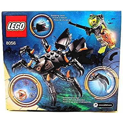 LEGO Atlantis Monster Crab Clash 8056: Toys & Games