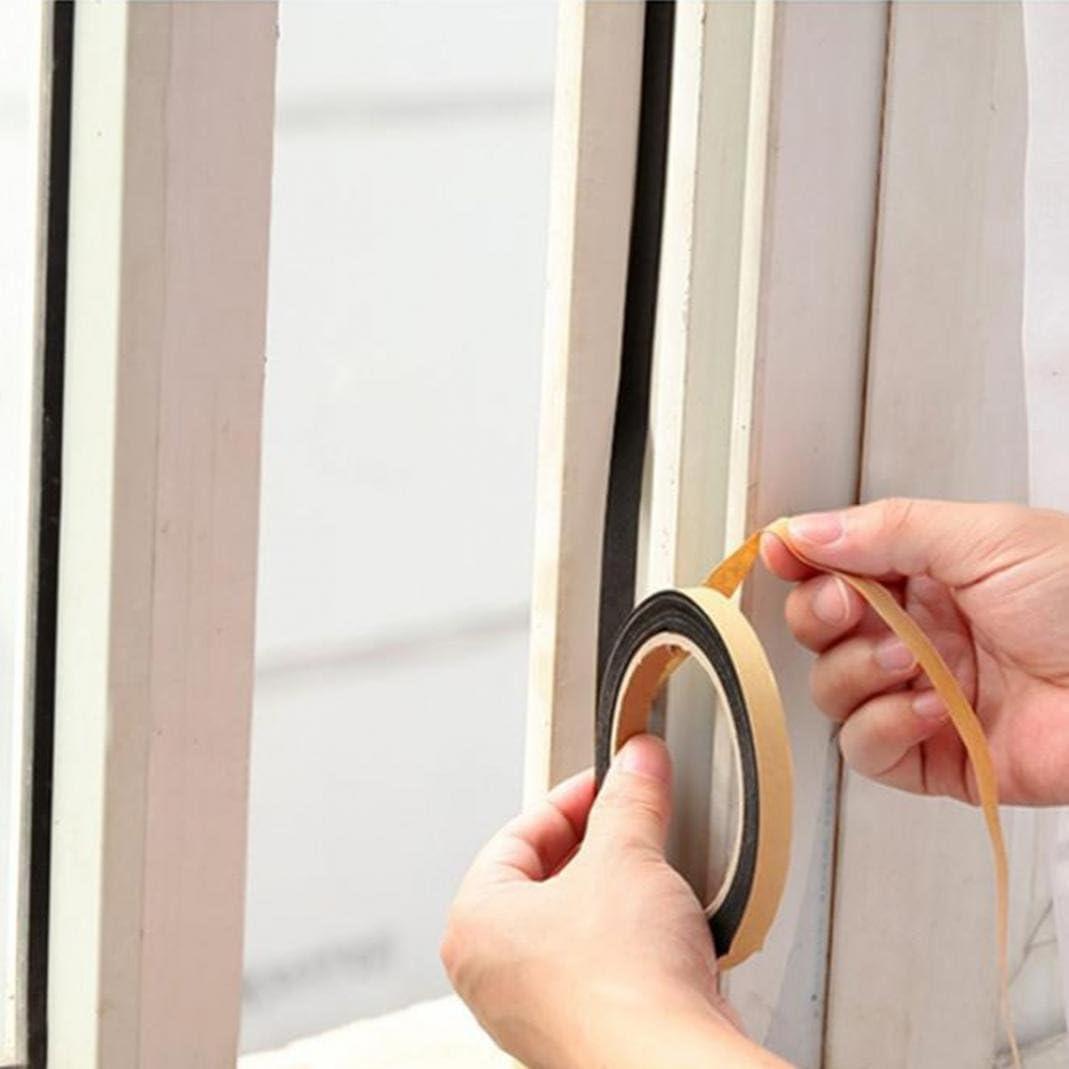 finestre bordo di tenuta nastro adesivo di copertura Striscia di guarnizione autoadesiva per cucina per gestione parassiti stufe a gas e lavandini protezione dalle intemperie medium casuale porte antipolvere