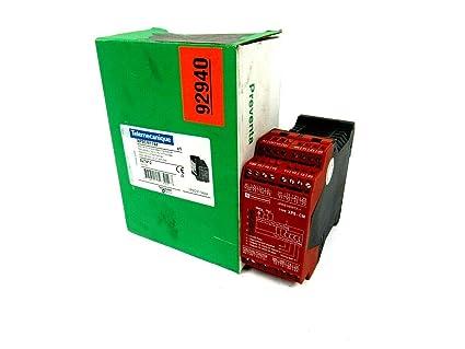 Schneider Electric XPSCM1144 Módulo XPS-CM, Sensores Fotoeléctricos de un Haz, 24 V