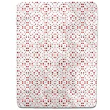 Circle Dance Of Hearts Fitted Sheet: King Luxury Microfiber, Soft, Breathable