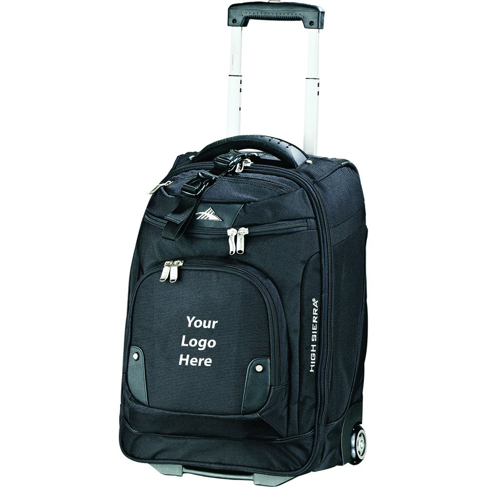 High Sierra 21'' Wheeled Carry On Computer Upright - 6 Quantity - $143.75 Each - PROMOTIONAL PRODUCT / BULK / BRANDED with YOUR LOGO / CUSTOMIZED by Sunrise Identity (Image #1)