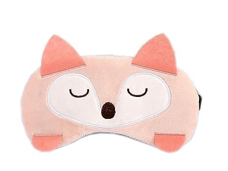 Doitsa Máscaras de Sueño Animales Kawaii Mignon Máscara Frío para los Ojos Multifuncional Diadema Ojos Noche