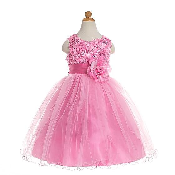 Amazon.com: MOLFROA Clearance Sale Girl Dress Kids Party Wedding ...