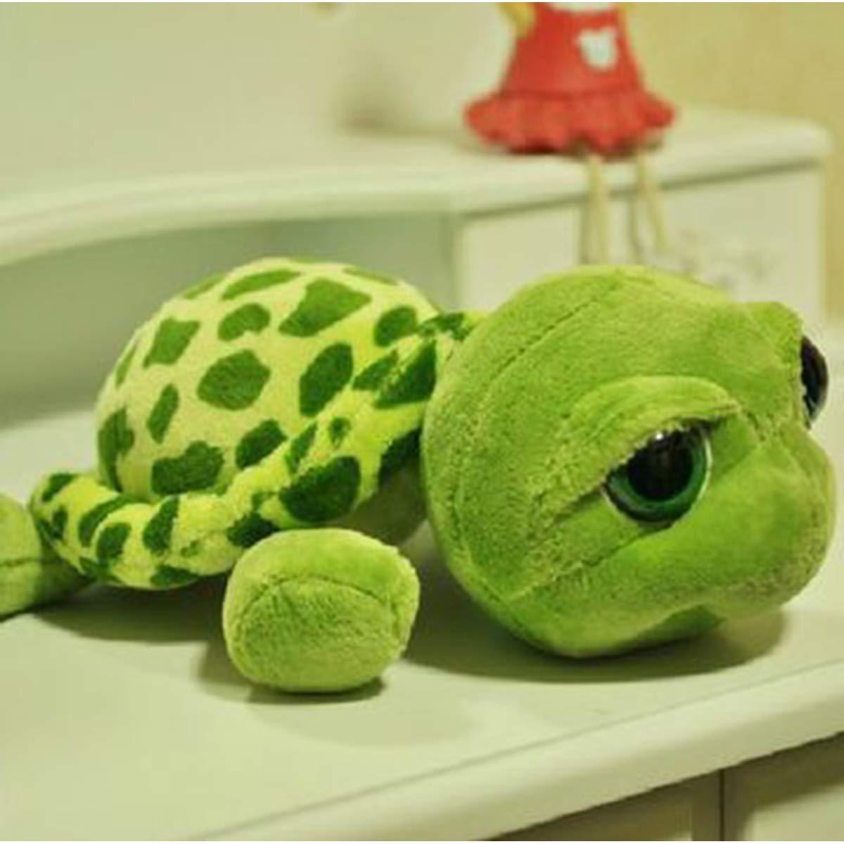 Green 100cm Plush Toy Boy Girl Soft Big Eyed Turtle Plush Toy Cute Sleeping Pillow Large Doll Birthday Gift