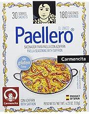 Carmencita Mezcla de Especias para Paella - 30 Sobres