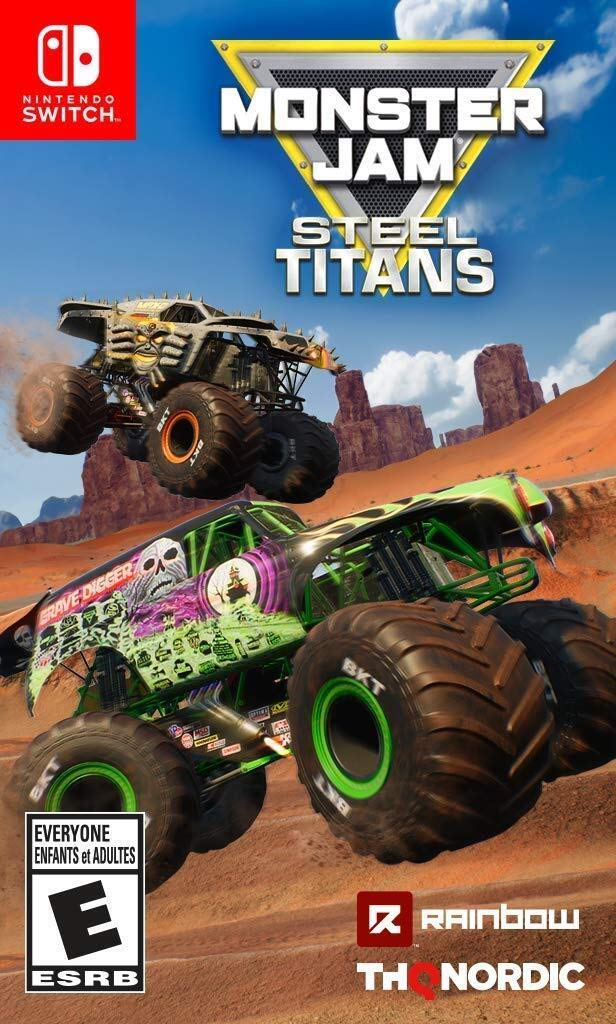 Amazon Com Monster Jam Steel Titans Nintendo Switch Thq Nordic Video Games