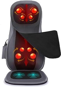 Napio Back and Neck Shiatsu Massage Chair Pad