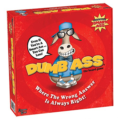 Amazoncom Dumb Ass Game Toys Games - 24 smart ass kids definitely know well