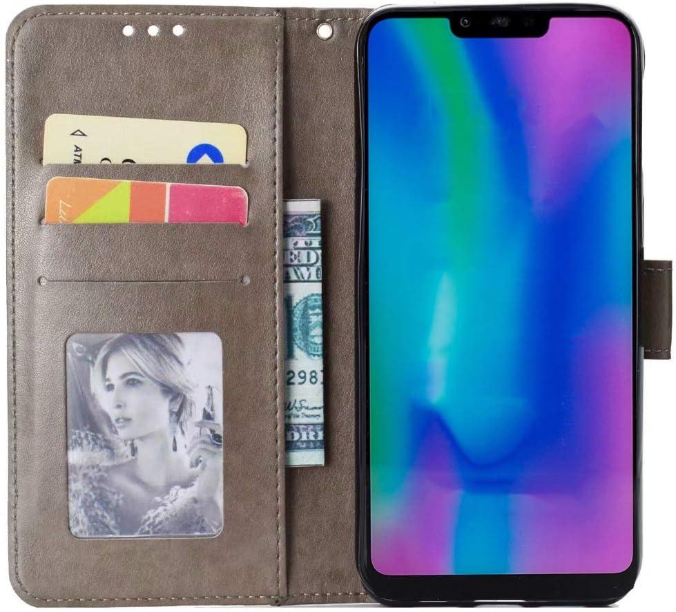 Funda para Xiaomi Mi 9 SE,T/ótem Carcasa Libro de Cuero Ultra Delgado Billetera Cartera Ranuras de Tarjeta,Soporte Plegable,Cierre Magn/ético Case Flip Cover