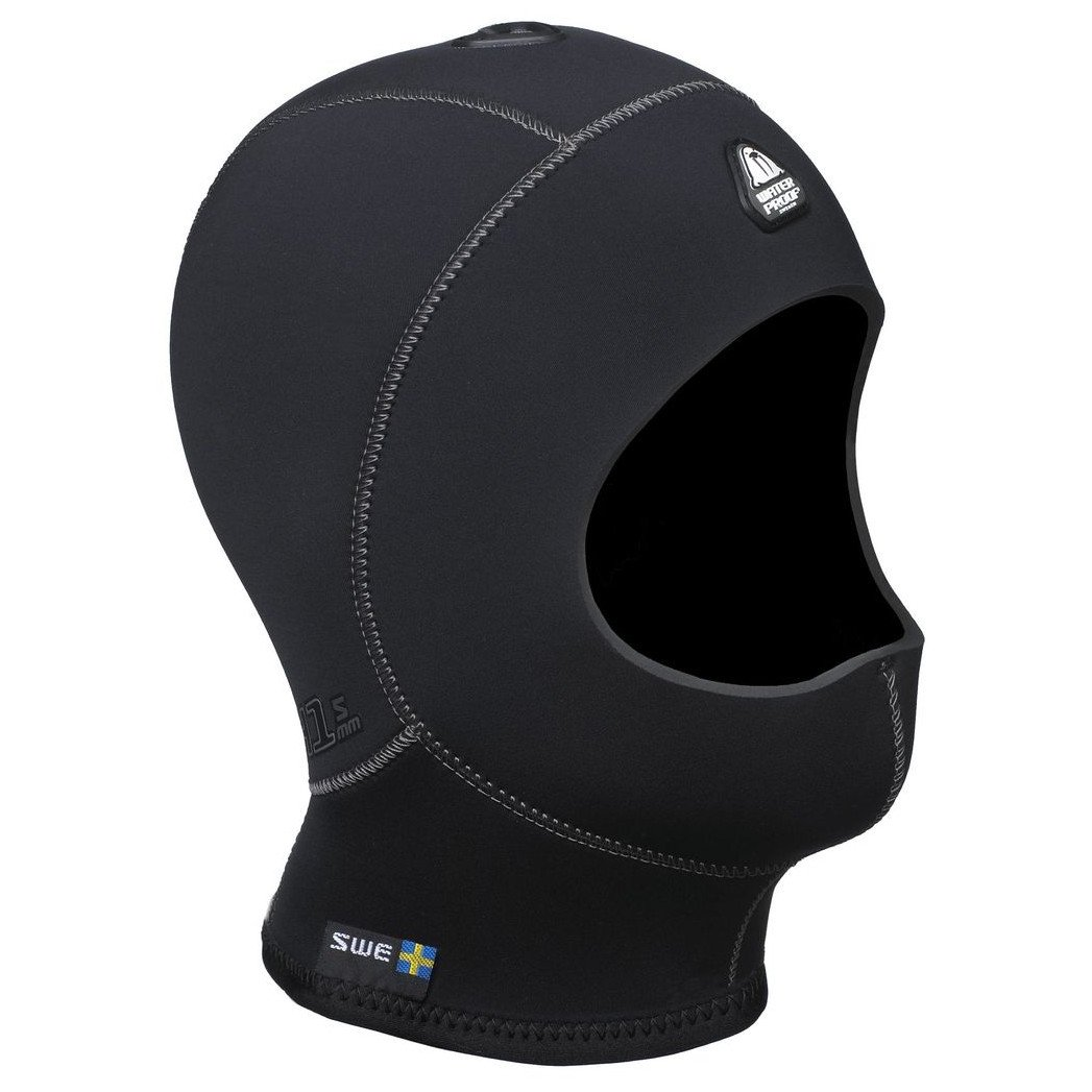 Waterproof H1 3/5mm Vented Anatomical Hood Without Bib, Large by Waterproof