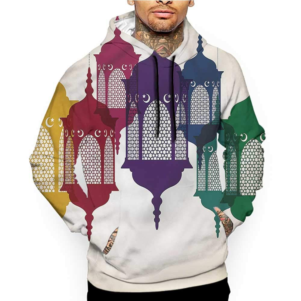 Hoodies Sweatshirt/Men 3D Print Landscape,River Float Between Rocks,Sweatshirts for Teen Girls