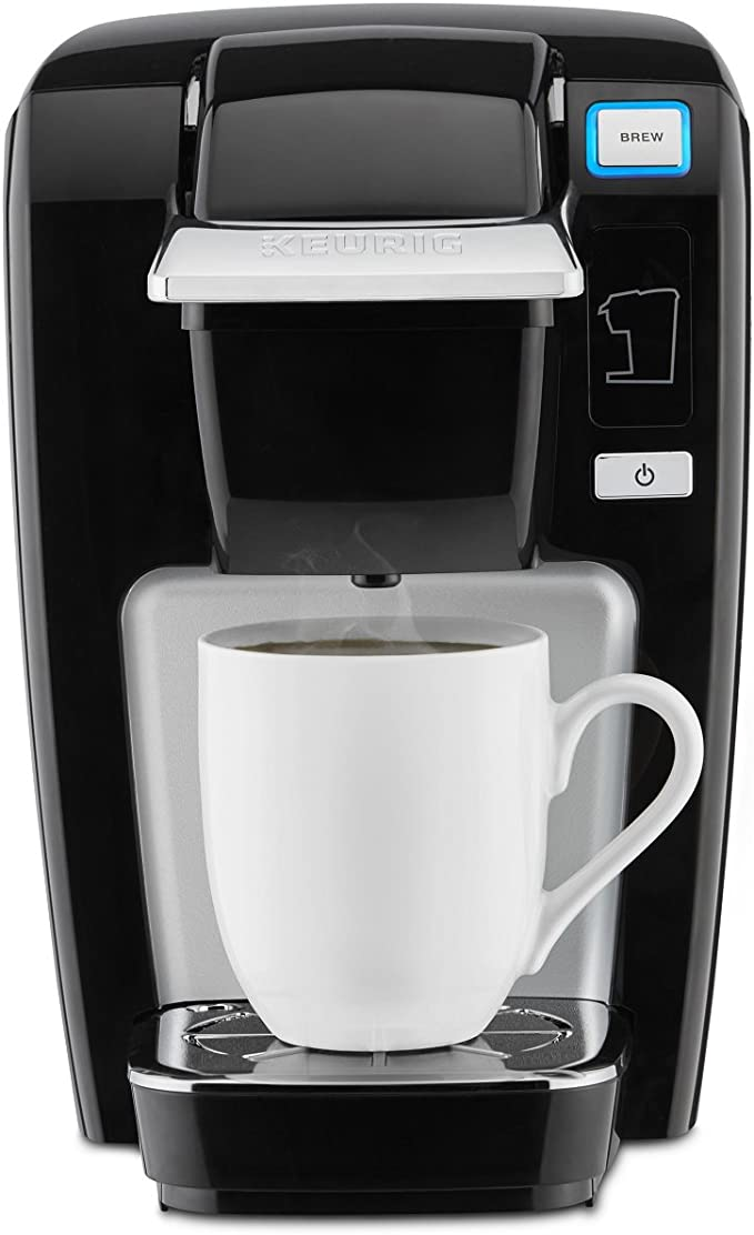 Keurig K15 Coffee Maker, Single Serve K-Cup Pod Coffee Brewer
