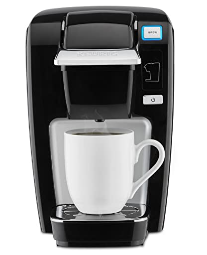 Keurig K15 Single Serve Compact K-Cup Pod Coffee Maker, Black