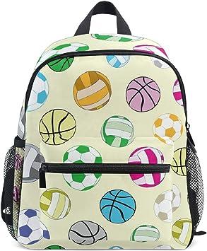 CPYang - Mochila para niños, diseño de balón de Baloncesto ...