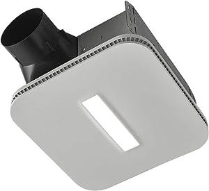 Broan-NuTone AE110LK Flex Bathroom Exhaust Ventilation Fan with LED Light, Energy Star Certified, 110 CFM, 1.0 Sones