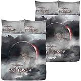 Parure Housse de Couette Twilight - Hésitation - Eclipse 198 cm x 198 cm - 2 personnes