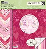 K&Company Kelly Panacci Valentine 12-by-12-Inch Specialty Paper Pad