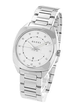 02737c50651b Amazon | グッチ GUCCI 腕時計 GG2570 ダイヤ ユニセックス YA142403 ...