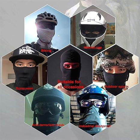 6 StÜcke Ultradünne Sommer Sturmhaube Sun Dust Gesichtsmaske Winter Winddicht Vollgesichtsmaske Atmungsaktive Halsabdeckung Für Radfahren Motorrad Ski Mehrfarbig Auto