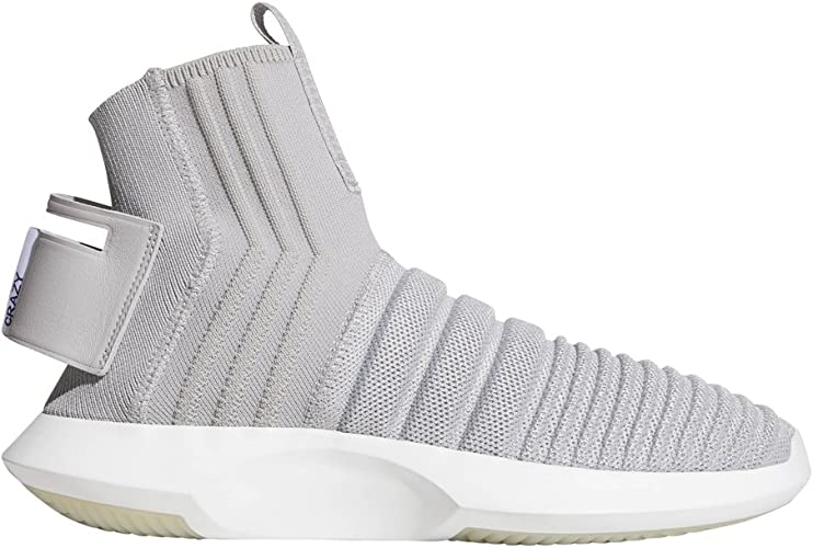 : adidas Crazy 1 ADV Sock PK Grey: Shoes