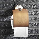 DX XD European Style Copper Towel Rack Ceramic Base Roll Paper Holder Toilet Paper Holder Antique Toilet Paper Holder Bedroom Paper Holder Kitchen