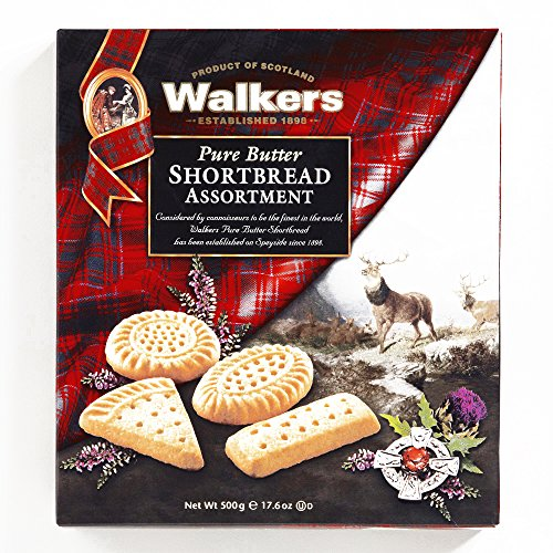 Walkers Traditional Shortbread Assortment 17.6 oz each - Gourmet Christmas Gift for the Holidays (1 Item per Order, Not per Case) -