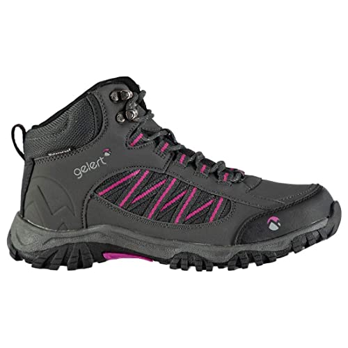 54923fd373069 Gelert Womens Horizon Mid Waterproof Walking Boots Breathable Lace Up Shoes