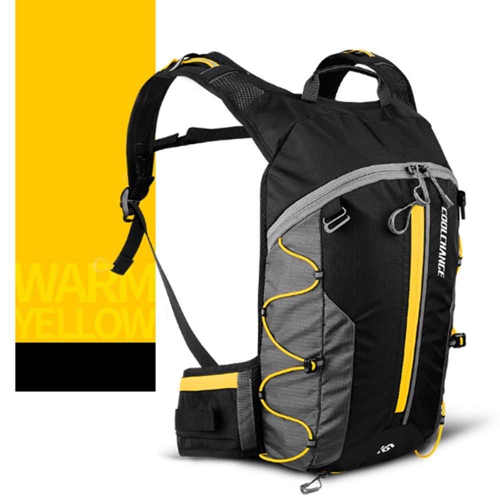Zaino per bici, Enjoyfeel Borsa pieghevole impermeabile traspirante Ultraleggero Acqua Backpack Campeggio Sport Outdoor Unisex Escursionismo 10L (Green)