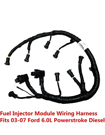 ficm engine fuel injector complete wire harness - replaces part# 5c3z9d930a  - fits ford powerstroke