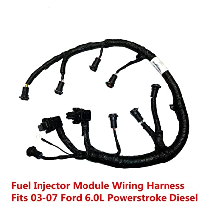 FICM Engine Fuel Injector Complete Wire Harness - Replaces Part# 5C3Z9D930A on