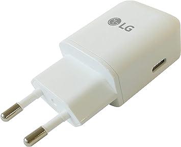 LG Cargador MCS-N04ER 5V/ 3A Tipo C Blanco con Cable USB ...