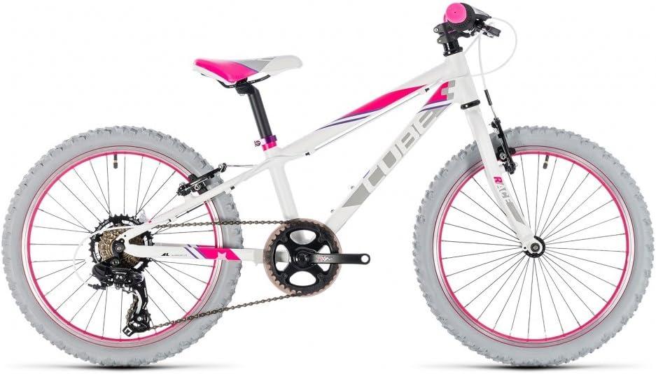 Bicicleta Niño Cube Kid 200 Girl White N Pink 2018: Amazon.es: Deportes y aire libre