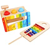 Pound and Tap Bench with Slide Out shape Xylophone - Anniversary Edition