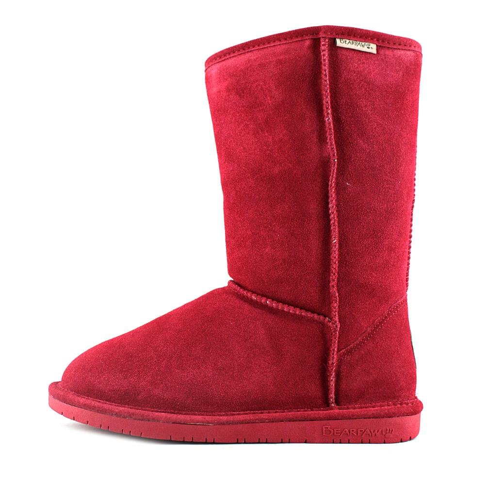BEARPAW Women's Emma Fashion Boot B00IXAOOG0 5 B(M) US Cranberry