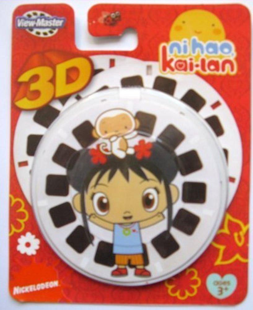 View-Master 3- Pack Ni Hao, Kai-Lan Reels [Toy] Mattel
