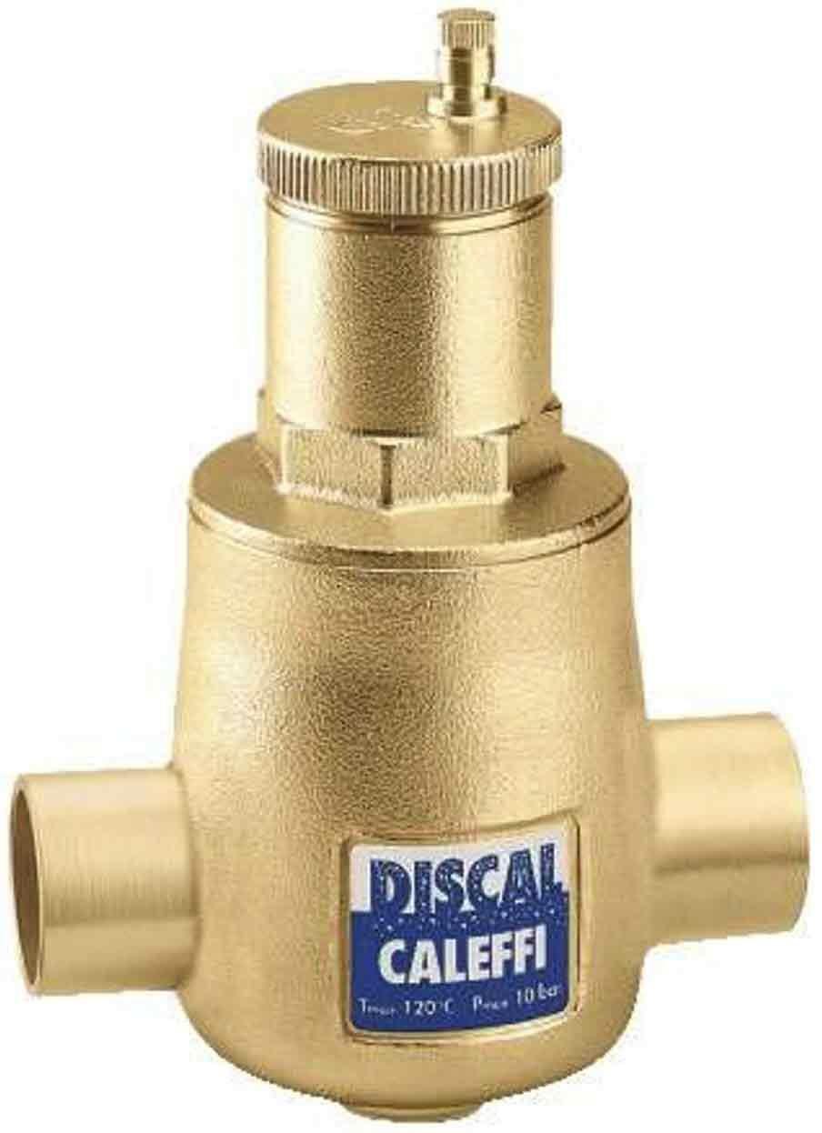Caleffi 551006A 1-Inch Sweat Air Separator