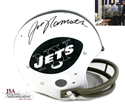 c44c179efe2 Image Unavailable. Image not available for. Color: Joe Namath Autographed/ Signed ...