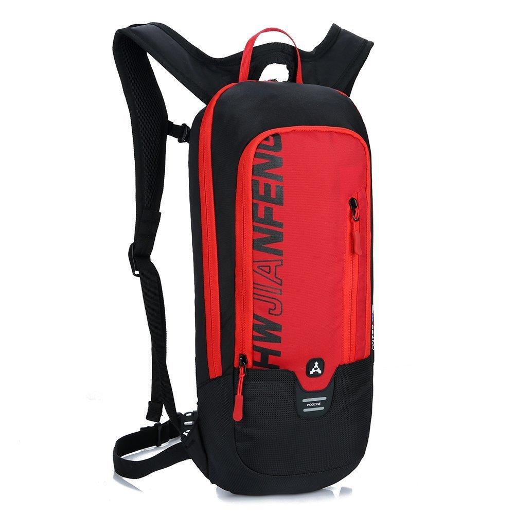negro 10L Mochilas de Hidratacion Ciclismo al Aire Libre de Unisex Multifuncional Impermeable de Poliester Para Viaje