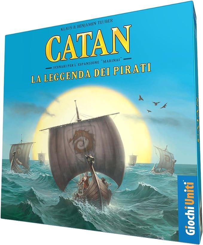 Giochi Uniti Coloni Catan la Leyenda de los Piratas, GU584: Amazon.es: Juguetes y juegos