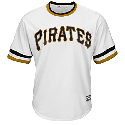 Image Unavailable. Image not available for. Color  Majestic Pittsburgh  Pirates Official Alternate Throwback Cool Base Jersey ... 18c3c8e7f