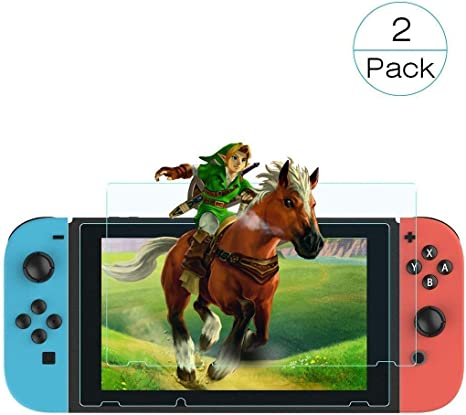 Protector de Pantalla Nintendo Switch, Dureza 9H, Transparente HD ...