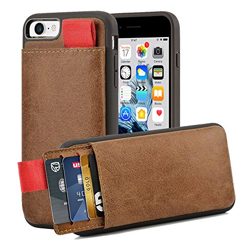 Leather LAMEEKU Shockproof Pockets Protective
