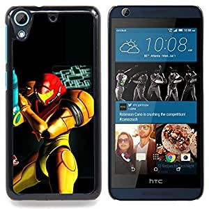 "Qstar Arte & diseño plástico duro Fundas Cover Cubre Hard Case Cover para HTC Desire 626 (Metr0Id Superhero"")"