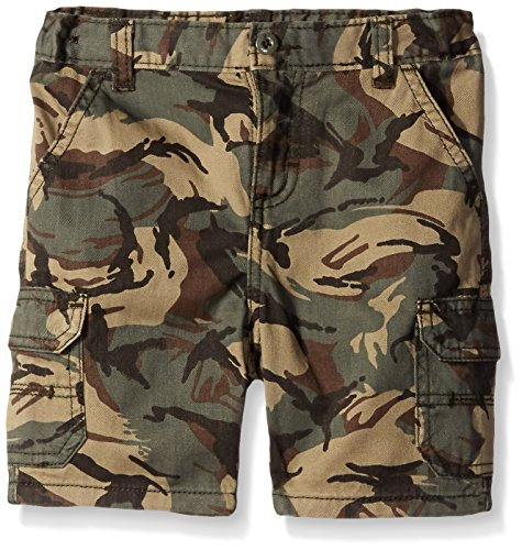 Wrangler Authentics Toddler Boys' Toddler Cargo Camo Short, 3T