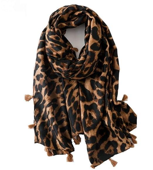 97cfeff63069f Huiyuzhi Womens Casual Warm Color Block Plaid Blanket Scarf Gorgeous Wrap  Shawl (One Size,